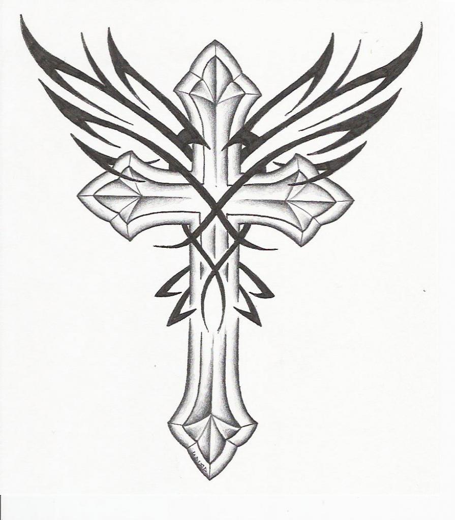 Cross Drawings | Free download best Cross Drawings on ...