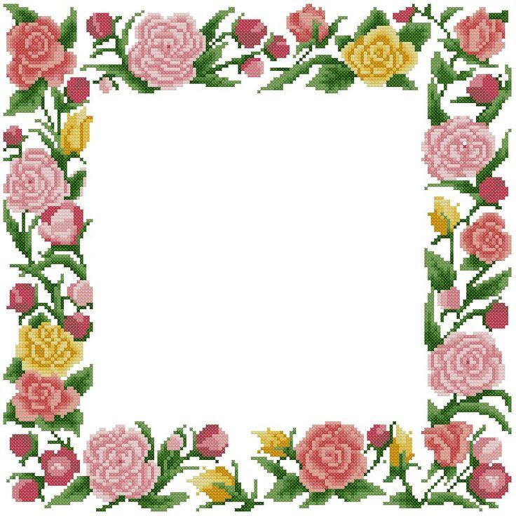Cross Flower Clipart