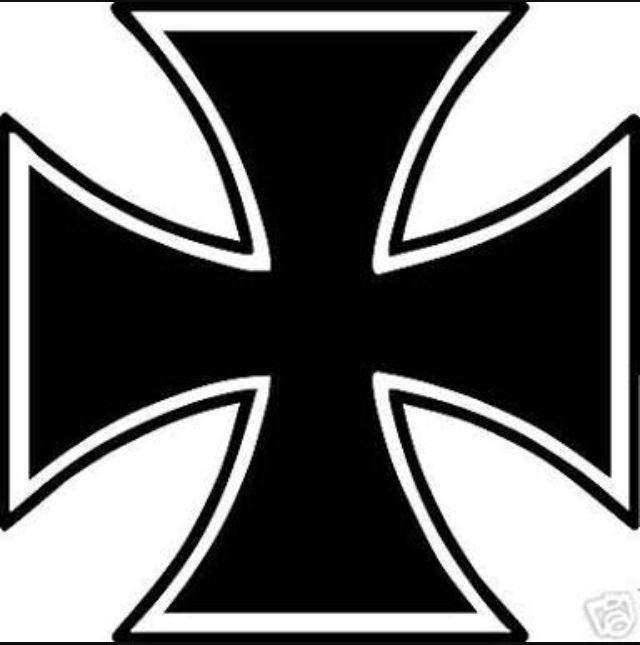 Line Drawing Maltese Cross : Cross tattoo clipart free download best