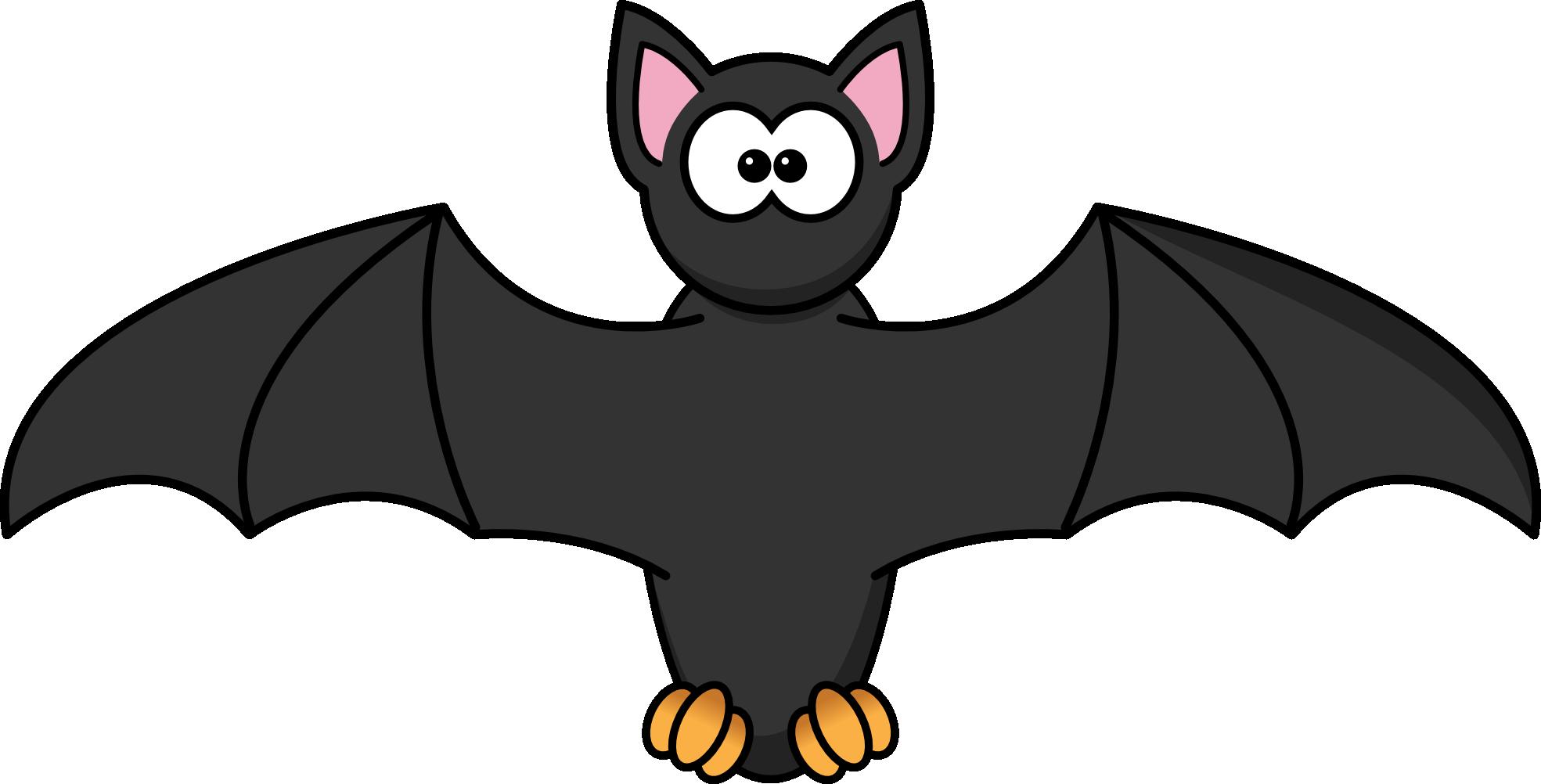 1969x1002 Bat Clipart Free Images