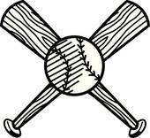 170x156 Baseball Bat Clip Art