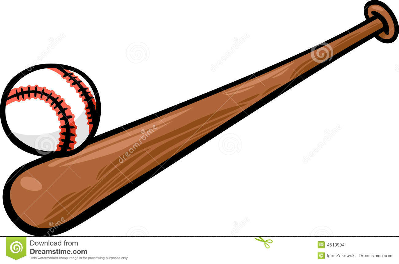 1300x860 Bat And Ball Clipart