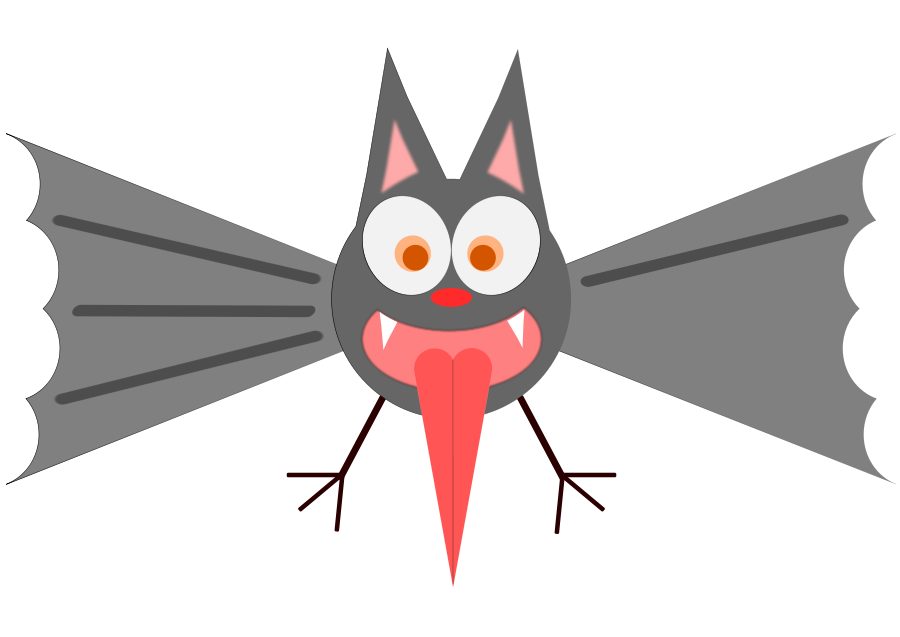 900x637 Bat Clip Art Bat Clipart Fans 4