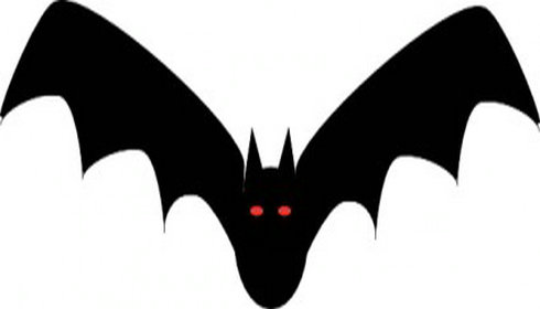 490x280 Bat Clipart Vector