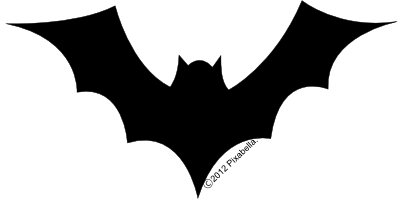 400x200 Templates Clipart Bat