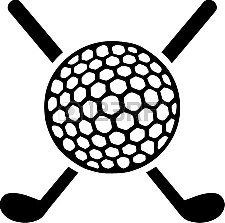 450x446 Golf Clubs Crossed Royalty Free Cliparts, Vectors, And Stock