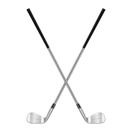 190x190 Crossed Golf Club Vector