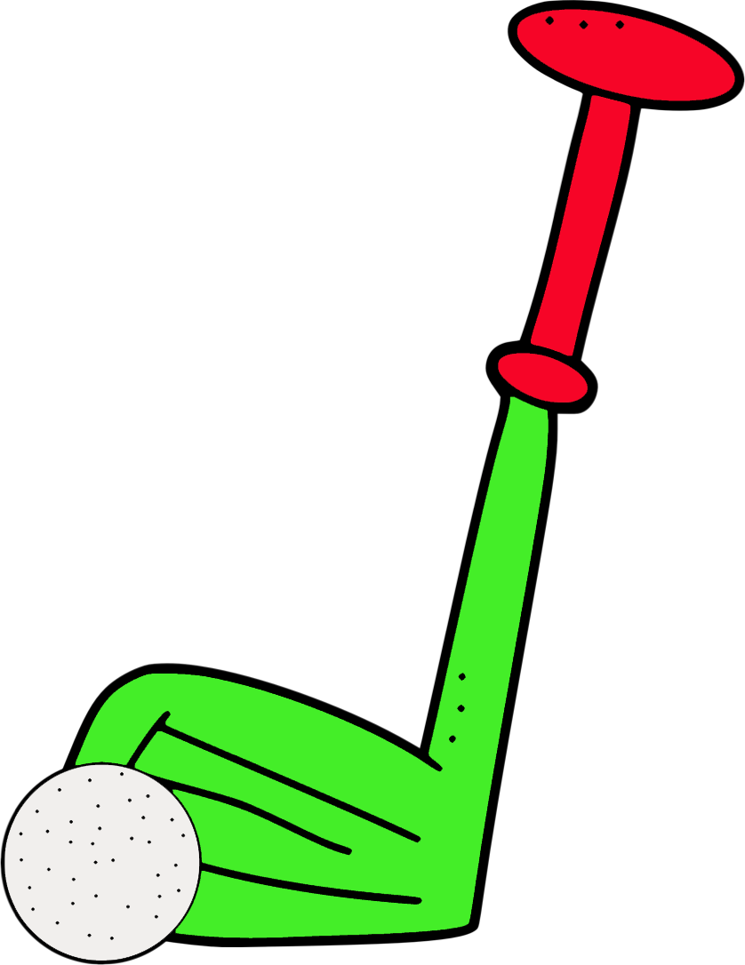 838x1086 Free Golf Club Clipart