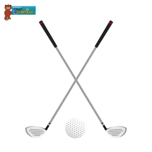 500x500 Golf Club Cliparts