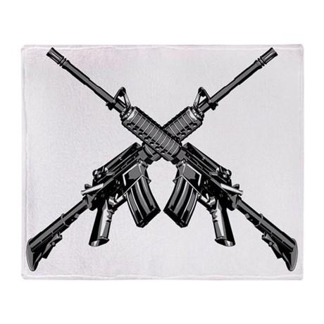 460x460 Gun Throw Blankets, Gun Fleece Blankets, Stadium Blankets
