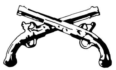 396x241 Crossed Guns Cliparts 199382
