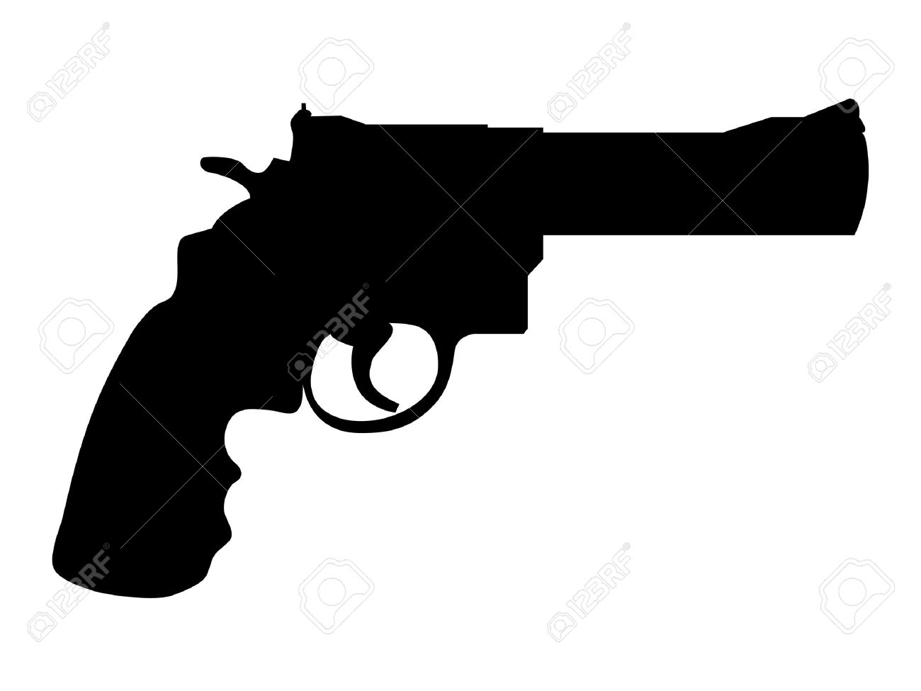 1300x975 Crossed Revolvers Silhouette Godstyle Keywords And Pictures