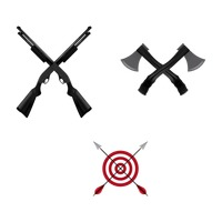 200x200 Crossed Weapon Weapons Collection Collections Arrows Arrow Quiver