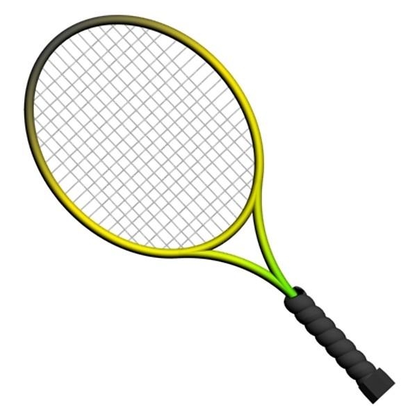 600x600 Crossed Tennis Rackets Clip Art Cliparts