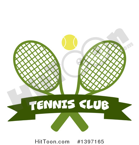 450x470 Crossed Tennis Rackets Clipart