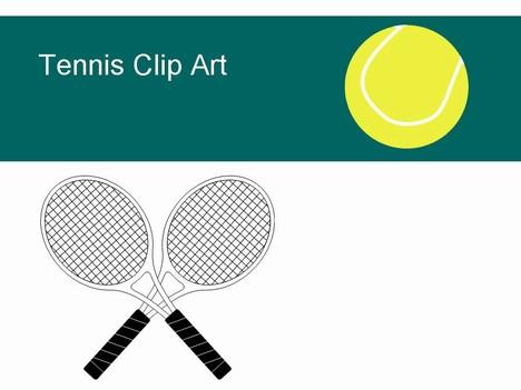 468x351 Tennis Ball Clipart Crossed