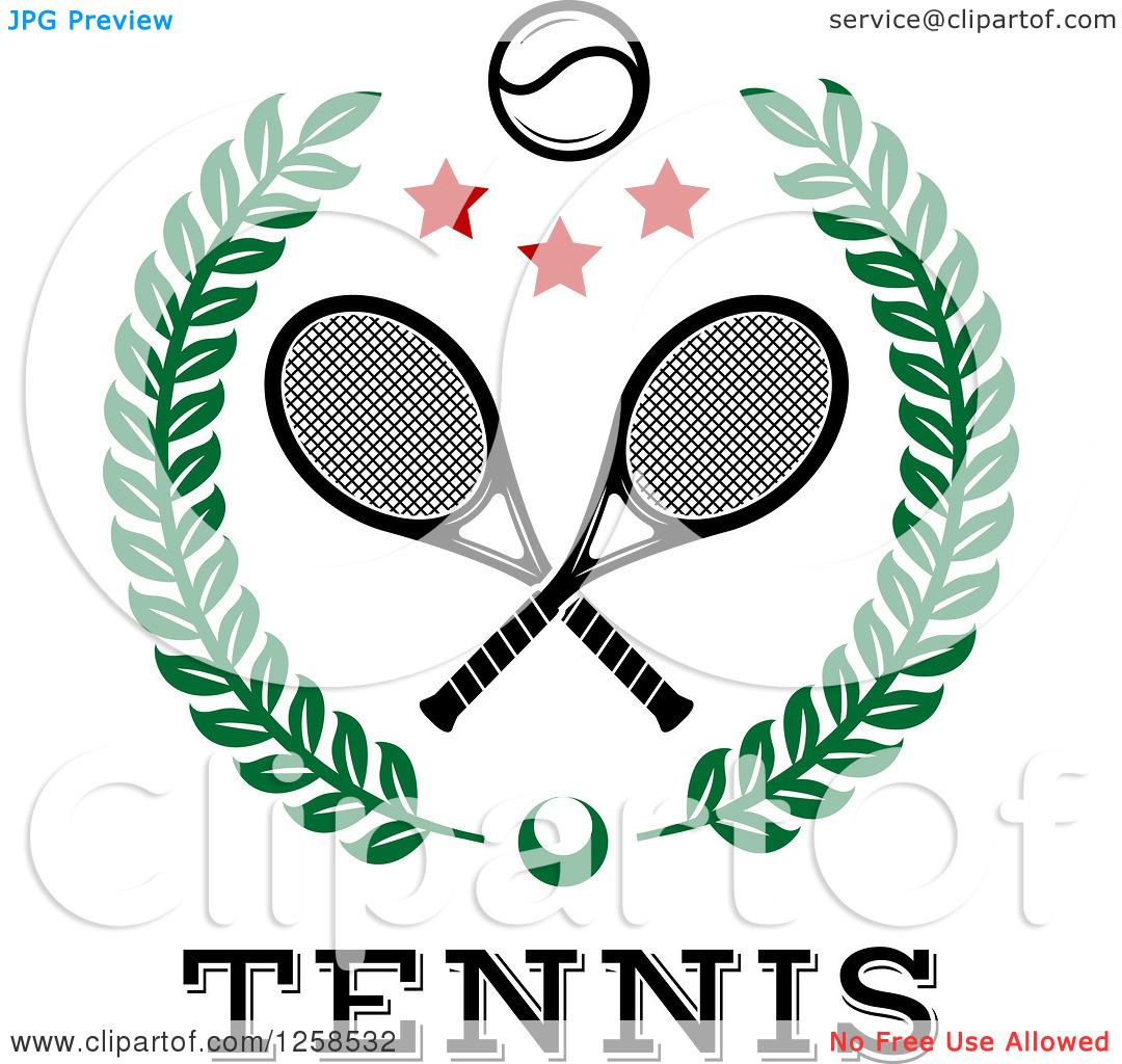 1080x1024 Clip Art Crossed Tennis Rackets Clip Art