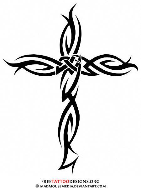 450x602 50 Cross Tattoos Tattoo Designs Of Holy Christian, Celtic