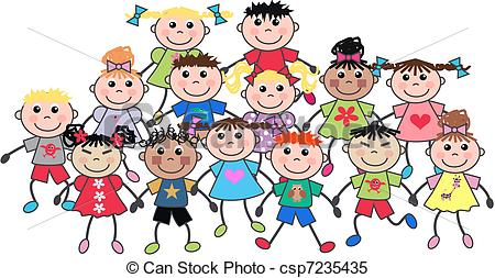 450x253 Crowd Clipart Crowd Child