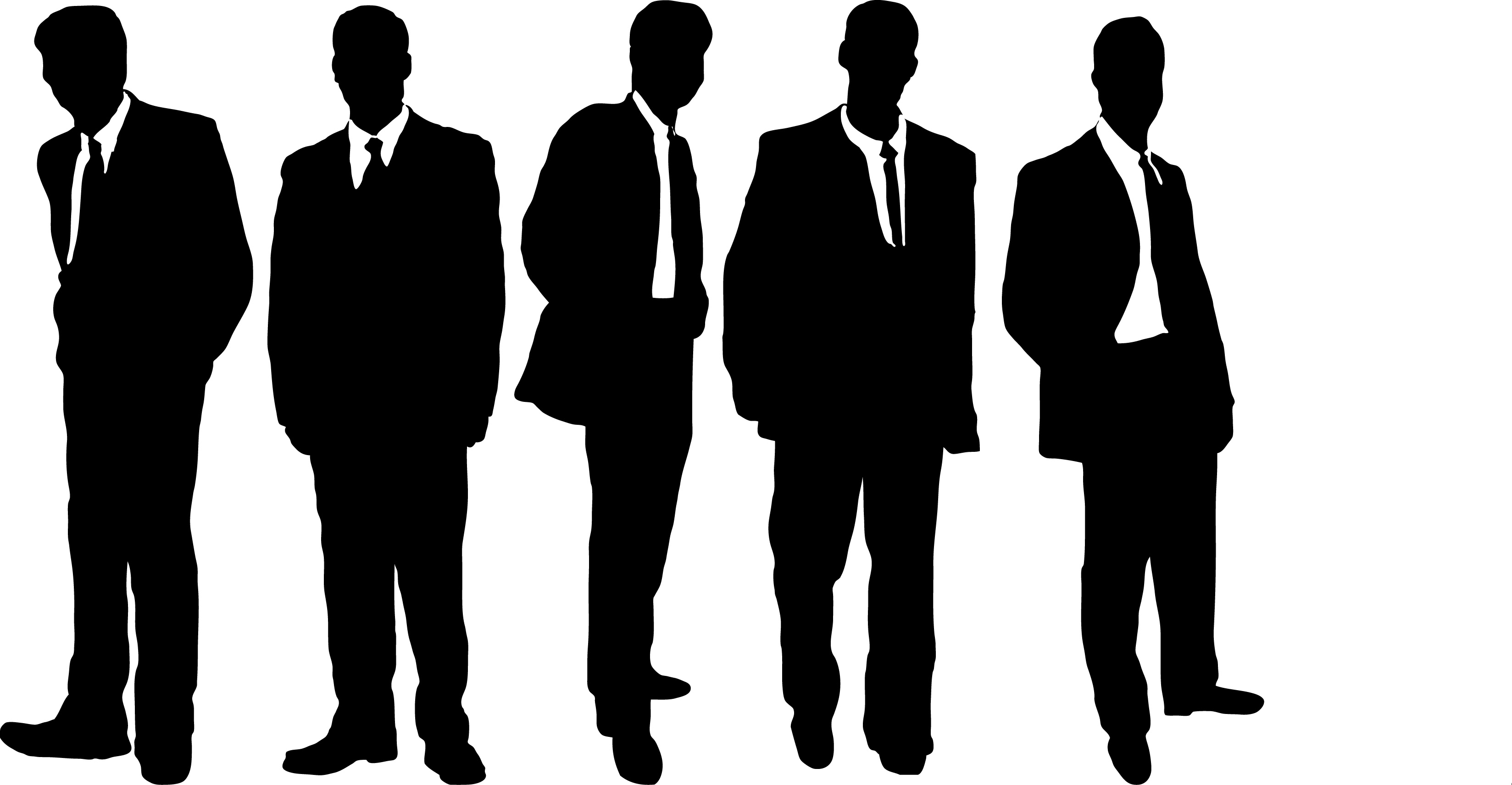 Crowd Of People Silhouette | Free download best Crowd Of People ... for Business People Silhouette Png  34eri