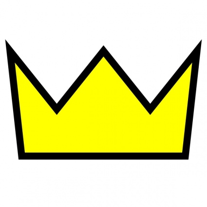 425x425 Crown Of A King Clipart