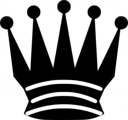 425x398 Crown Clipart White Queen
