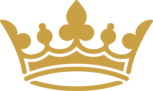 536x319 Golden Crown Clipart