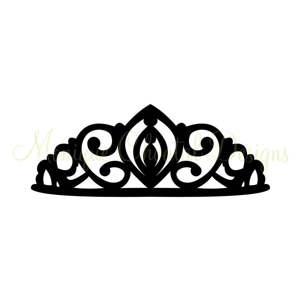 999x999 Black princess crown clipart free images