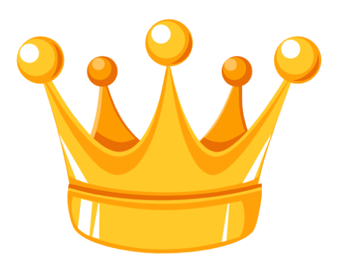 489x380 Clip Art Crown