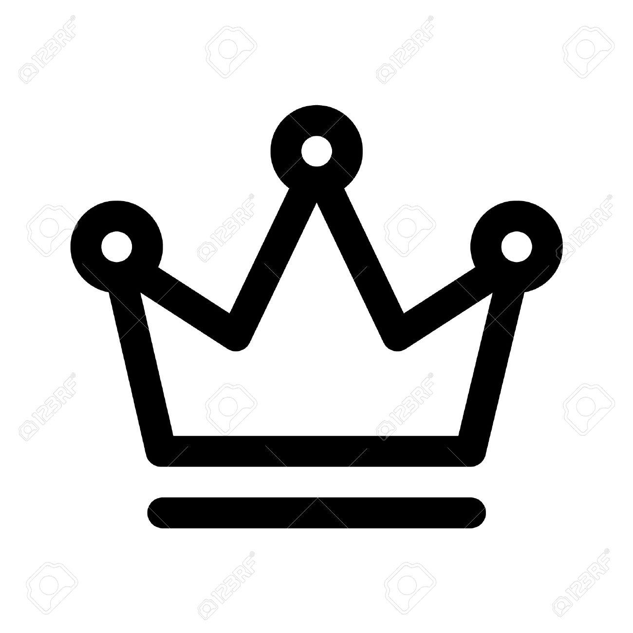 1300x1300 Crown Outline Logo Clipart