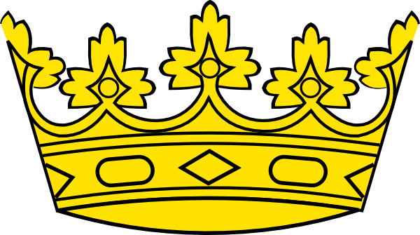 600x335 Queen Crown Clipart Black And White Free 3