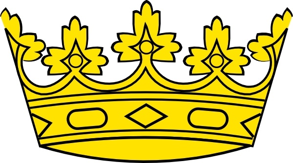 600x335 Crown Clip Art Free Vector In Open Office Drawing Svg ( Svg