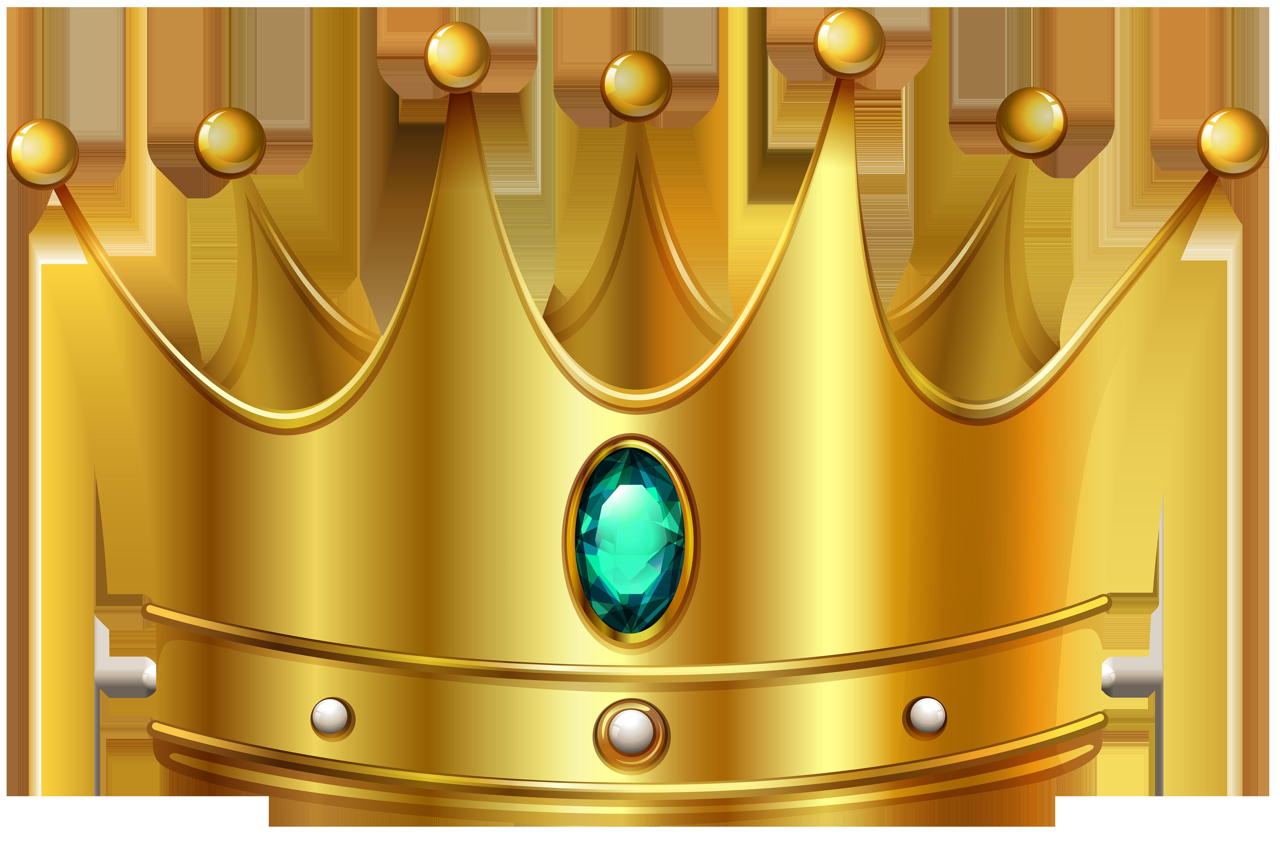 5000x3287 Gold Crown Clipart Clipartandscrap