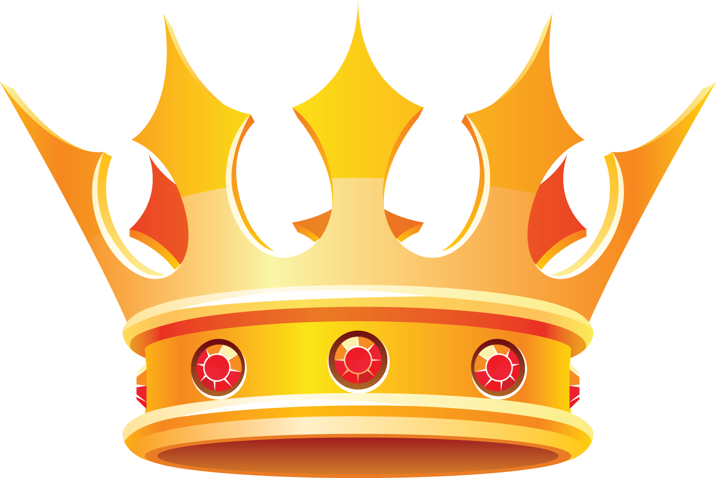 1449x967 King Crown Clipart