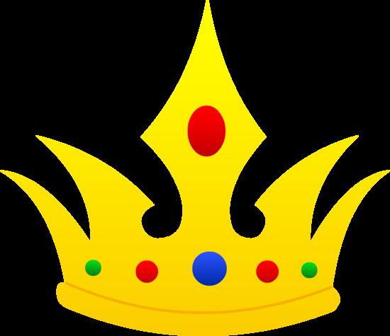 550x475 Pointed Golden Crown Design