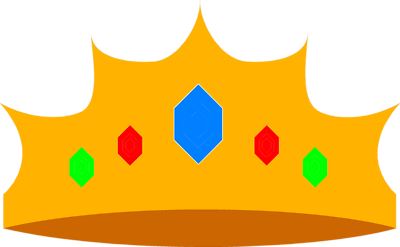 400x247 Crown Clipart Clear Background