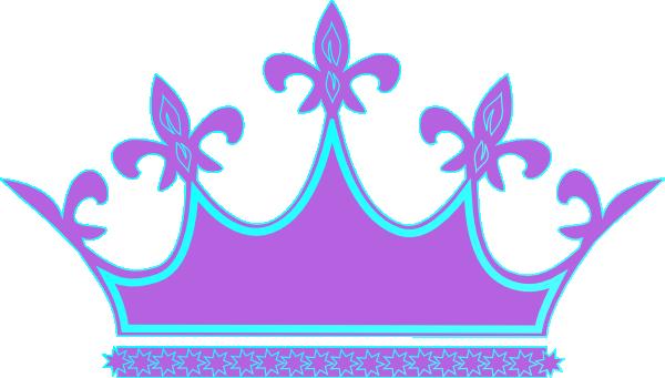 600x341 Purple Blue Crown Clip Art