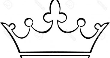 367x195 Royal Queen Crown Outline Vector Free Vector Art, Images