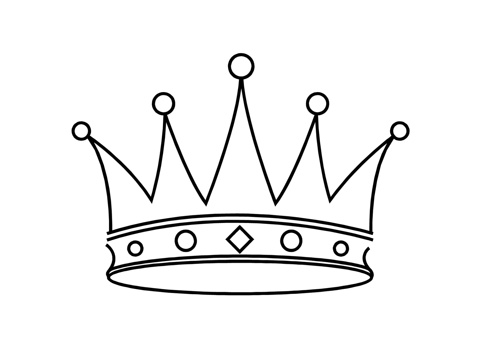 1666x1178 Crown Outline Logo Clipart