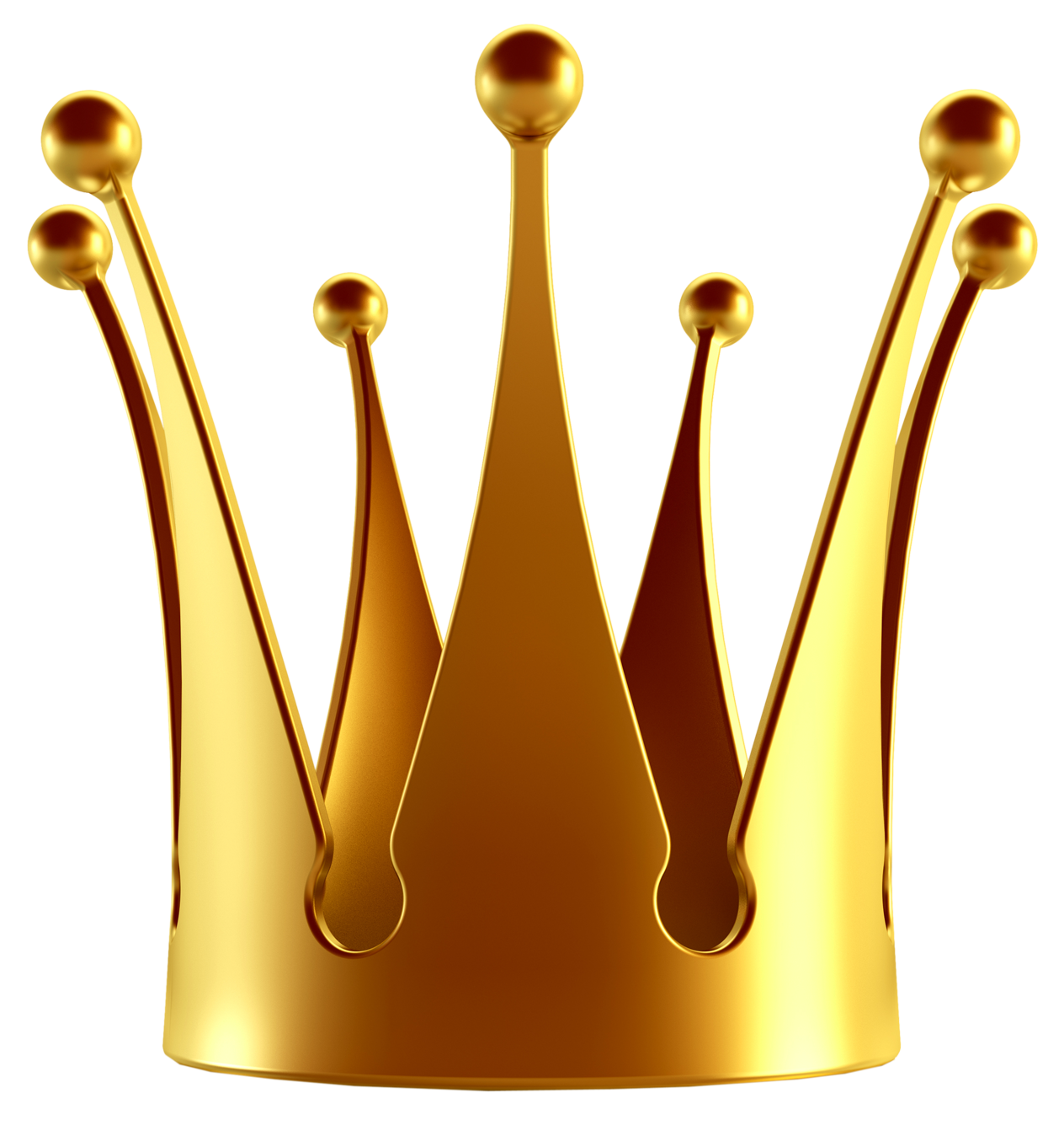 1264x1335 King Gold Crown Clipart