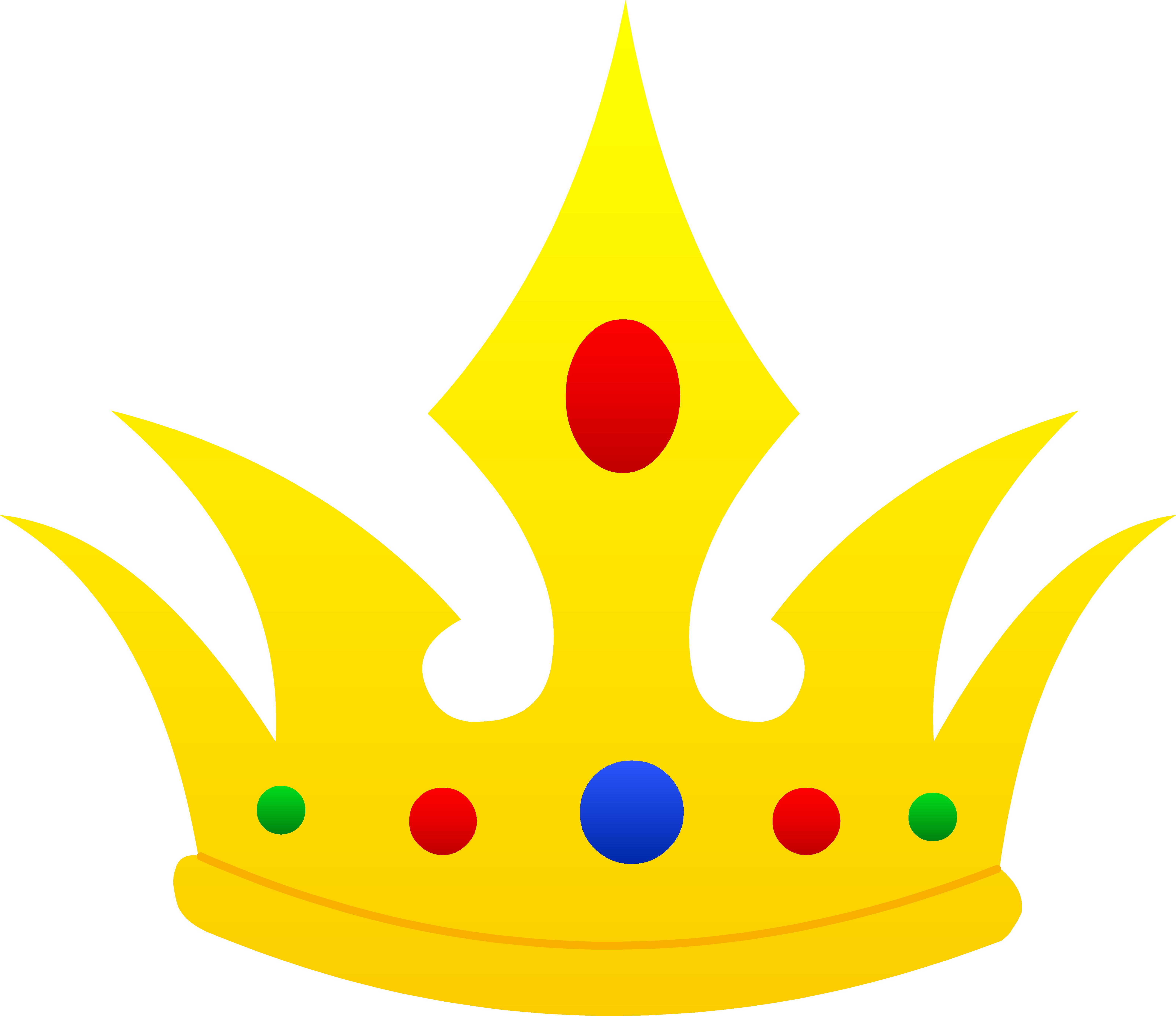 6203x5360 Pointed Golden Crown Design