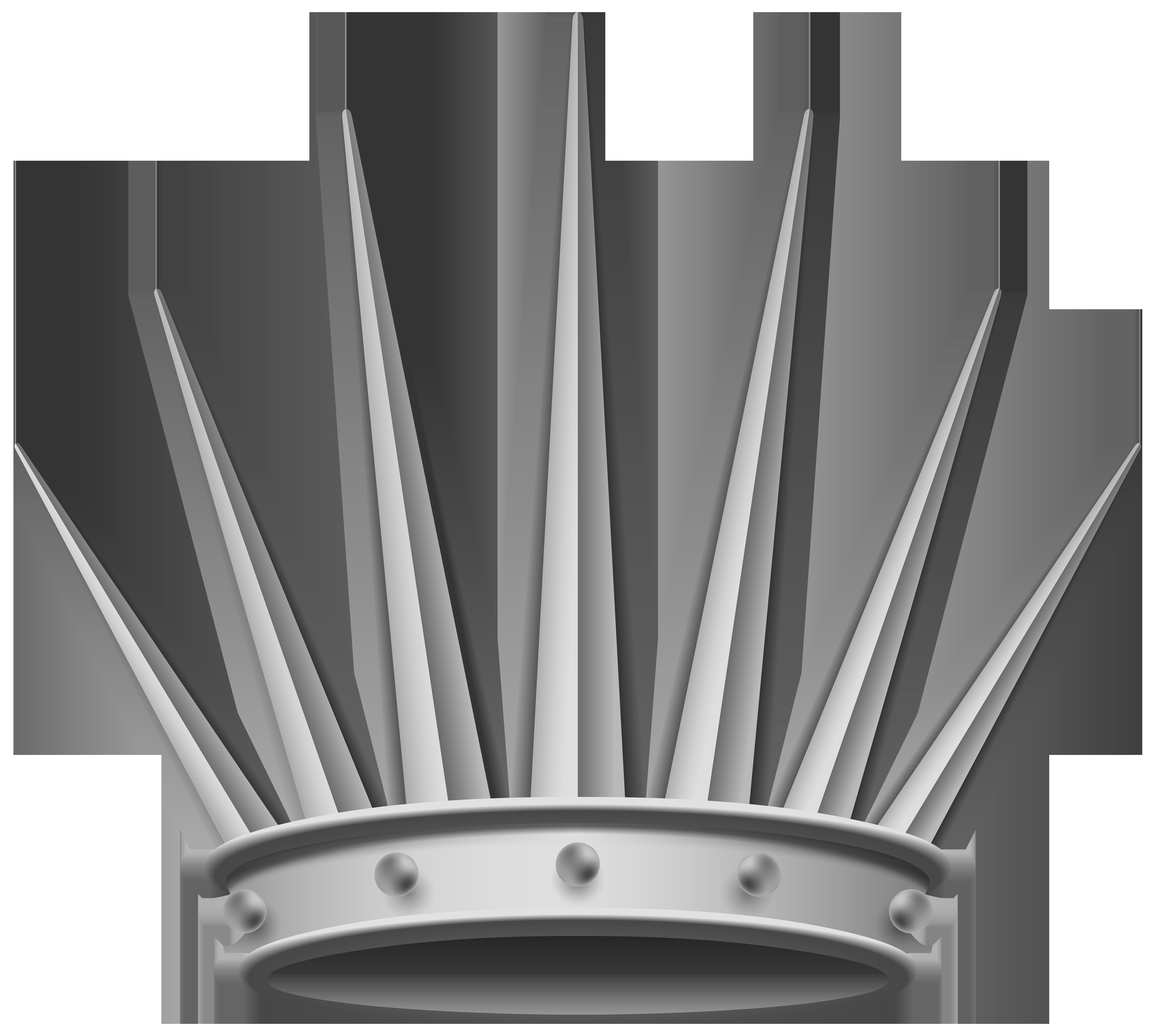 8000x7169 Silver Crown Transparent Png Clip Art Imageu200b Gallery