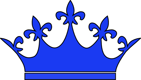 600x339 Royal Blue Crown Clipart