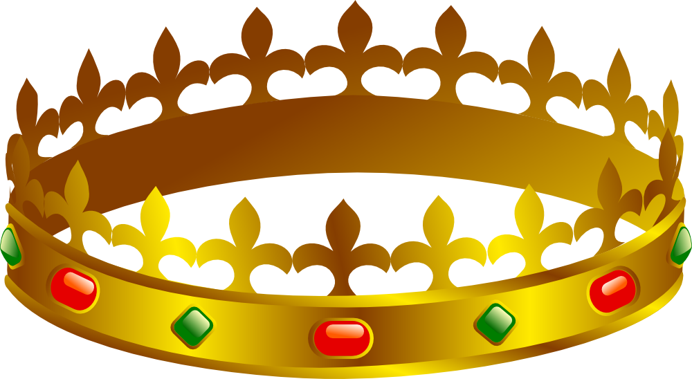 1000x548 Clip Art Of A Crown
