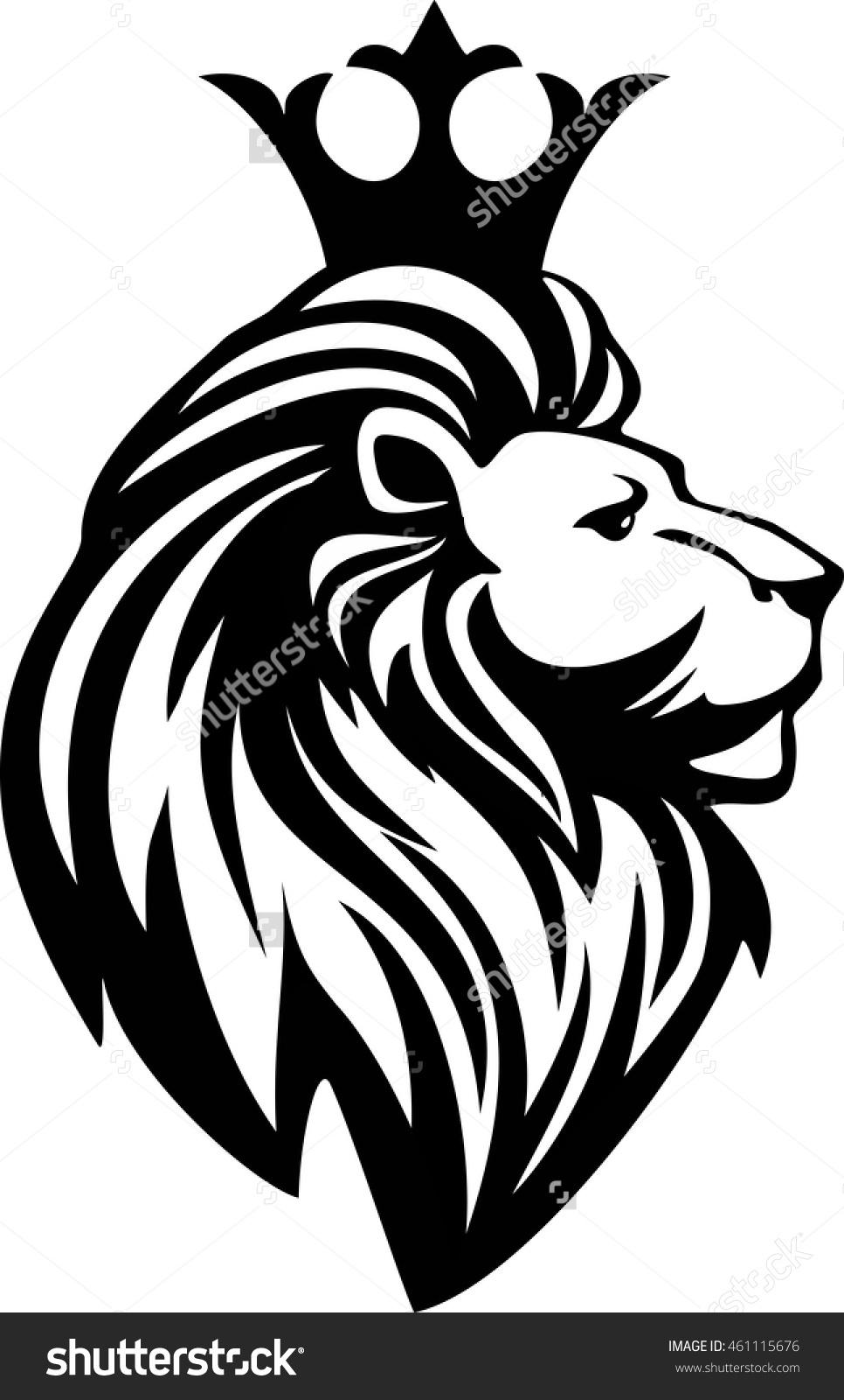 966x1600 Lion With Crown Drawing Lion With Crown Drawing 43874 Imgflash