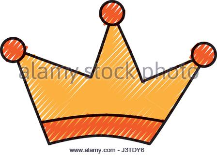 448x320 King Crown Drawing Isolated Icon Stock Vector Art Amp Illustration