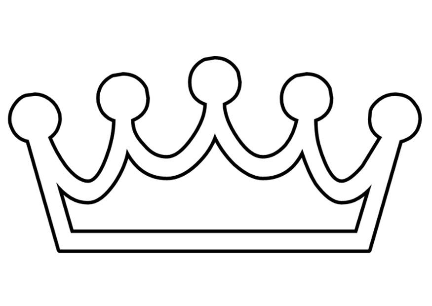 875x620 Good Crown Coloring Sheet 77 On Line Drawings With Crown Coloring