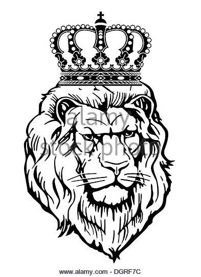 393x540 Lion With Crown Stock Photos Amp Lion With Crown Stock Images