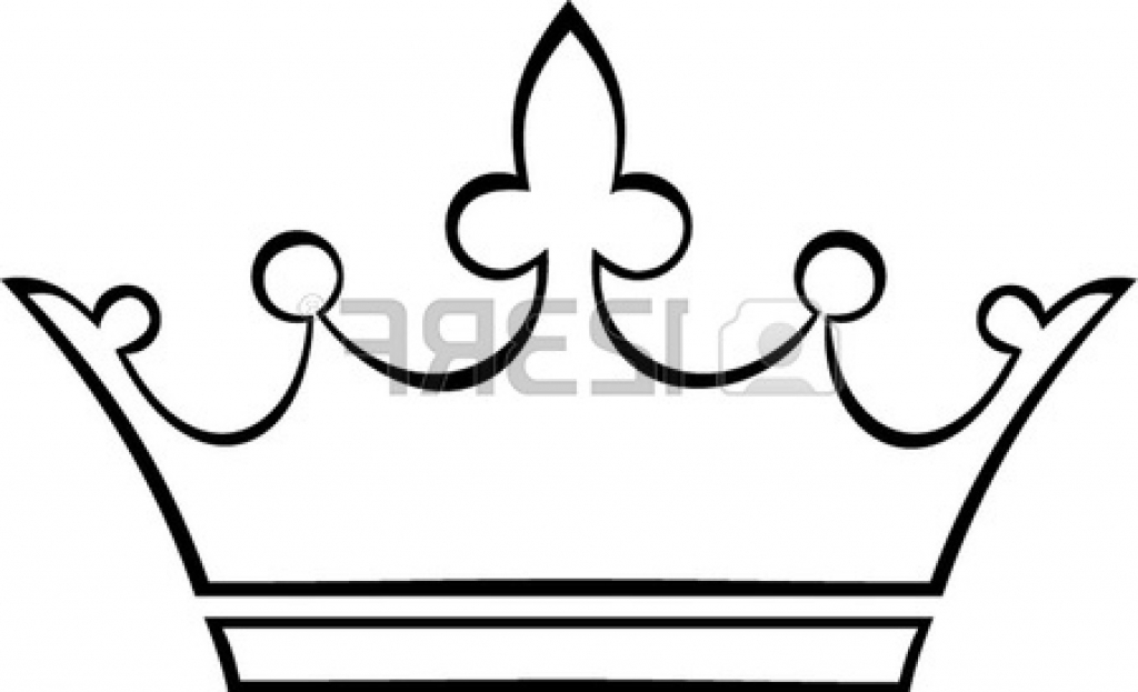 1024x623 Simple Crown Drawing