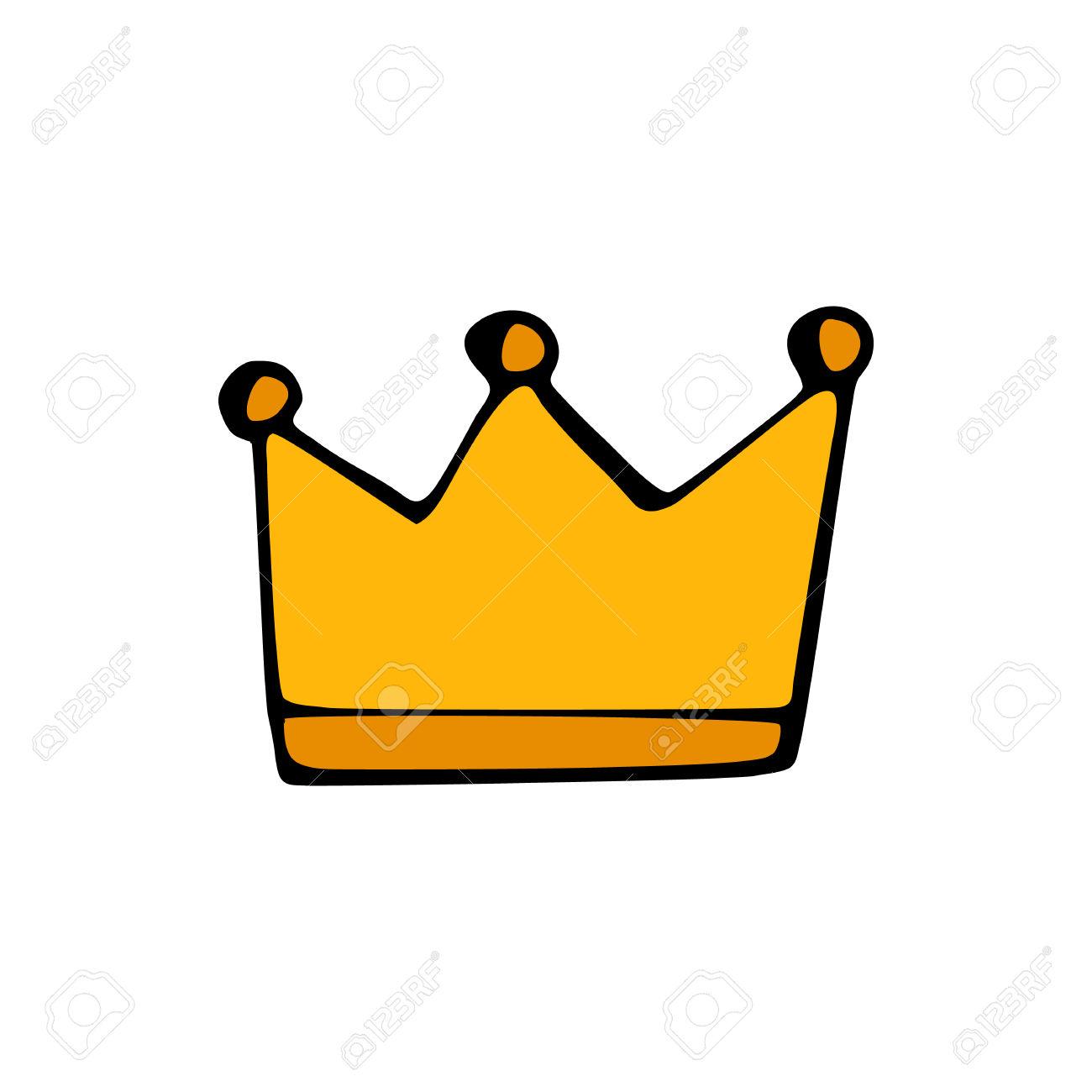 1300x1300 Crown Clipart Hand Drawn